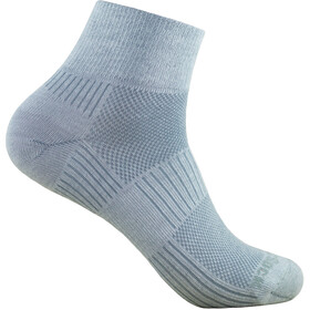 Wrightsock Coolmesh II Quarter Socks light grey